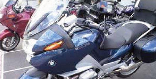「バイク」の駐車もOK!