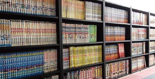 2,000冊以上!「漫画コーナー」が充実!!