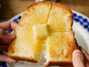 最高に美味しいトーストをお召し上がりください。