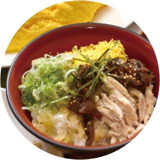 奄美の郷土料理「鶏飯(けいはん)」